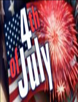 Upcoming Events-4th of July